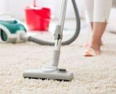 How to clean a cloth carpet?
