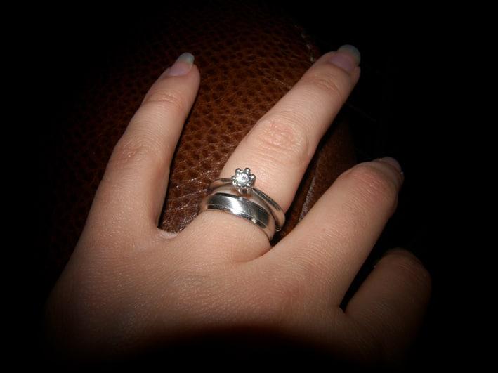 What finger wedding ring?